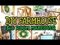 DIY Farmhouse Decor on a Budget / Trash to Treasure Thrift Makeover