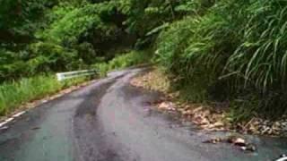 和歌山県道25号で見つけた悪路:その2