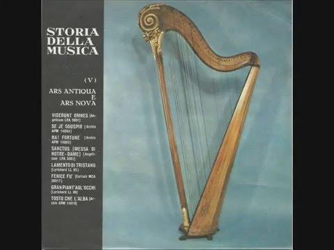01.05 - Storia della Musica - Fabbri Ed. - 1964 - Ars Antiqua e Ars Nova