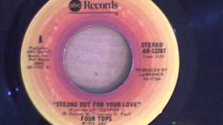 FOUR TOPS - STRUNG OUT FOR YOUR LOVE