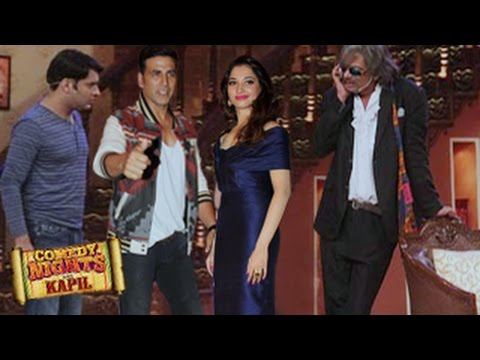 Akshay Kumar, Tamannaah Bhatia on Comedy Nights with Kapil 2nd August 2014 FULL EPISODE