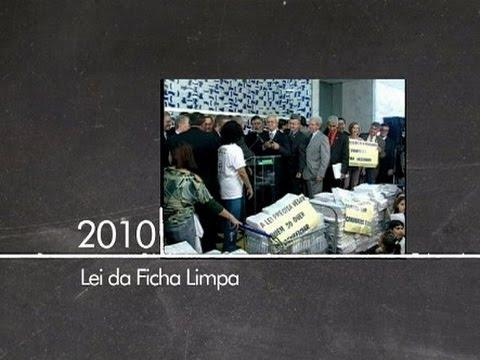 Criação da Lei da Ficha Limpa representou um marco da participação popular
