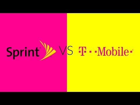 T-Mobile VS Sprint Speed Test! #CarrierWars2