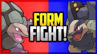 Golem: Kanto vs Alola |  Pokémon Form Fight