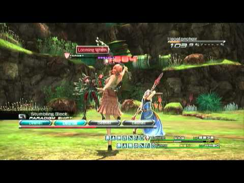 Final Fantasy XIII How to easily beat Hecatoncheir w/commentary.