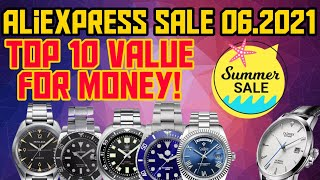 ⭐AliExpress Summer Sale⭐ 10 best  VALUE for money watches! Recommended  The Watcher