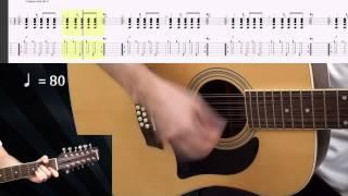 Гитарный бой № 10 (видеоурок) dieza.NET