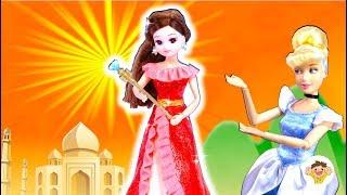 リカちゃん ディズニープリンセスのエレナの衣装を粘土で手作り❤アバローのプリンセスのドレスをDIYして変身⭐可愛くできたかな♪おもちゃ 人形 アニメ えれな 検索動画 2