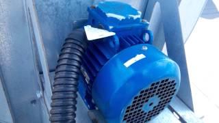 Крышные вентиляторы дымоудаления - монтаж радиальных вентиляторов Веза и ВКР, цена и видео
