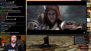 Asmongold Watches WoW Cinematics in Reverse Order Just Before the Launch of WoW Classic