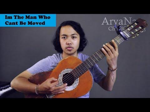 Chord Gampang (I'm The Man Who Can't Be Moved - The Scirpt) by Arya Nara (Tutorial Gitar)