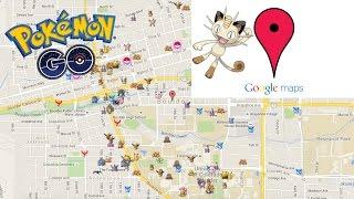 Pokemon Go - Google Maps Hack - Find Any Pokemon Proof !!! Free HD Video
