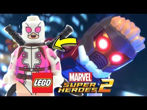 LEGO Marvel Super HEROES 2 - GWEENPOOL, 10 Personagens Novos & LEGO Ninjago Movie gameplay