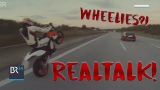 Realtalk!   Wheelies, Polizei, Tuning   mit Alpi