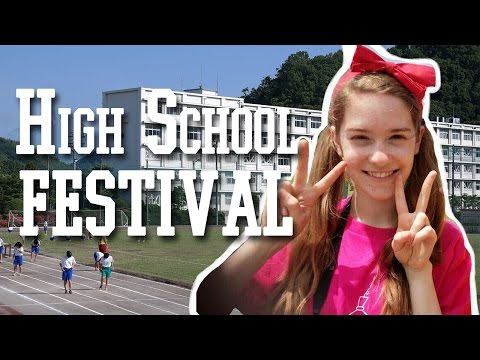 Japanese High School Festival