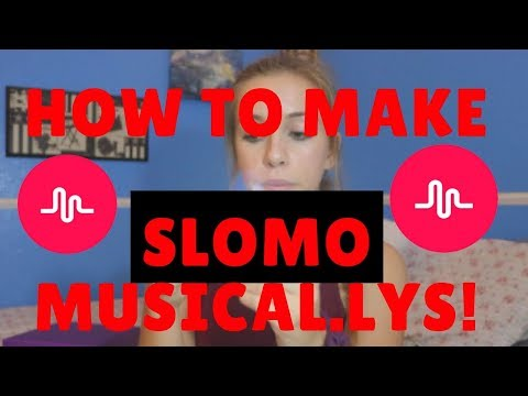 How to make NO HANDS SLOMO Musical.ly's! (part 2 with glitter and baby powder)
