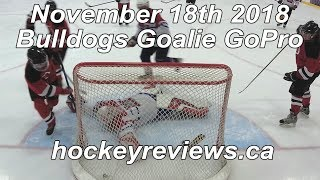 November 18th 2018 Bulldogs Hockey, Save of the Year Candidate! Goalie GoPro Yi 4K+