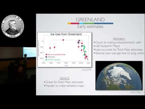"Christopher Harig ""Ice caps melting on a deforming Earth: New constraints from satellite gravity"""