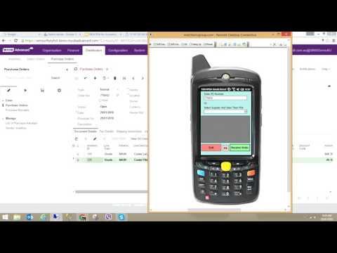 SBO4 PDA WMS for MYOB Advanced