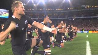 BEST Haka EVER on HD - All Blacks Haka - Rugby World Cup Final 2011 Vs. France