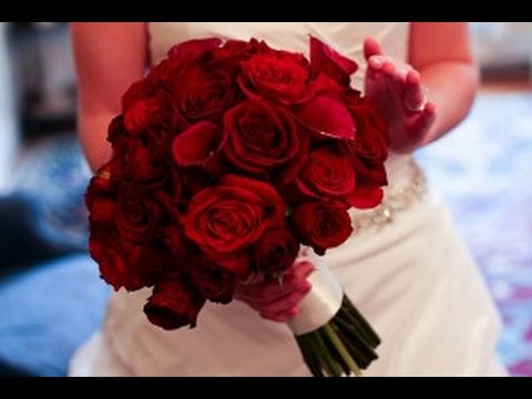 romantic-red-wedding-bouquets