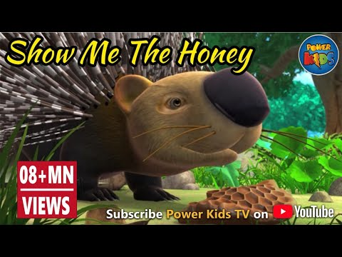 Jungle Book Hindi Cartoon for kids | Jungle| Mogli Cartoon Hindi | Show me the honey