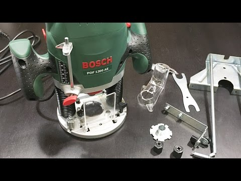 Bosch pof 1200 ae router youtube bosch pof 1200 ae router greentooth Images