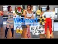 Slaying WALMART OUTFITS!!! 😱 Holiday Edition! 😍 SHOPPING on a BUDGET!