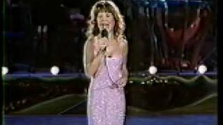 "Pia Zadora singing ""I Am What I Am"" at the Seoul Music Fest 1988"