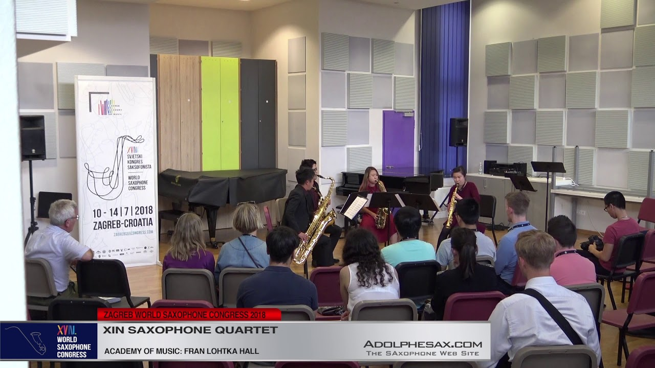 Homage by Zachariah Goh   Xin Saxophone Quartet   XVIII World Sax Congress 2018 #adolphesax