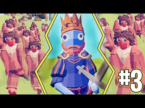 THE KING VS PEASANTS!! - TOTALLY ACCURATE BATTLE SIMULATOR!