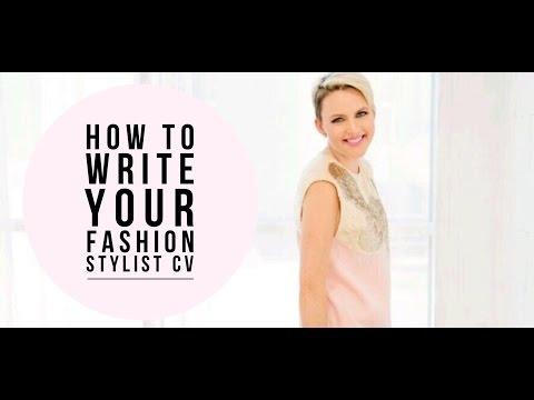 Fashion Stylist Personal Shopper CV