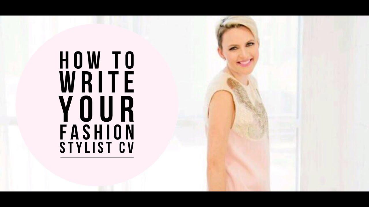 Fashion Stylist Personal Shopper Cv Youtube