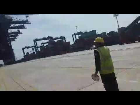 Ship Crash Port Qasim Karachi Pakistan