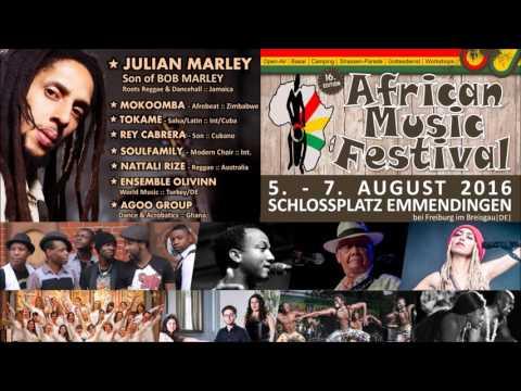 Radio Werbung African Music Festival 2016
