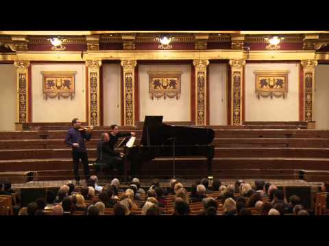 Johannes Brahms «Scherzo», Дмитрий Коган Dmitri Kogan 18 October 2015, Musikverein Grober Saal