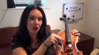 How to change a Broken String on your Violin TUTORIAL