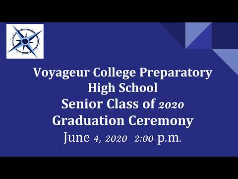 Voyageur College Prep Class of 2020 | Graduation Ceremony