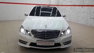 Mercedes Benz E класс, 2012г.  1,8АТ(184л.с.) , видеообзор от Юрия Грошева, автосалон...