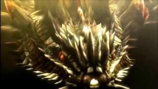 [3DS] Monster Hunter 4 Ultimate -Shah Dalamadur Intro-