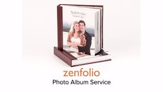 Zenfolio's Easy Album Service - hassle free heirloom quality albums for your clients. thumbnail