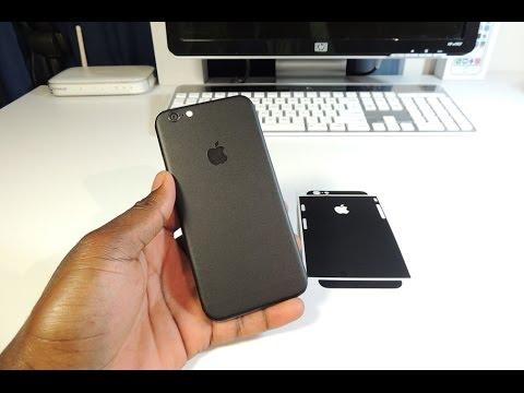 promo code 4d783 b379b DBrand Matte Black Skin For iPhone 6