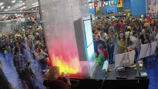 2019 Cambridge Science Festival Time Lapse Video