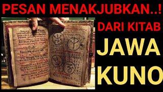Download Lagu Pesan MENAKJUBKAN..! dari KITAB JAWA KUNO mp3