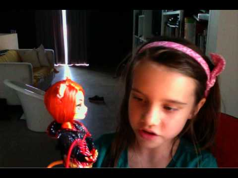 Monster high Toralei stripe doll review
