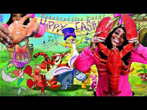 Giant 15lb Lobster Mukbang Happy Easter Special