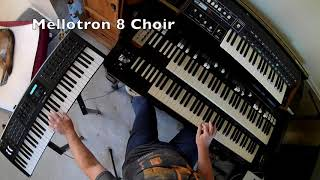 White Mountain by Genesis - keyboard cover and tutorial