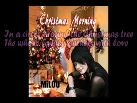 Milou  Christmas Morning lyrics