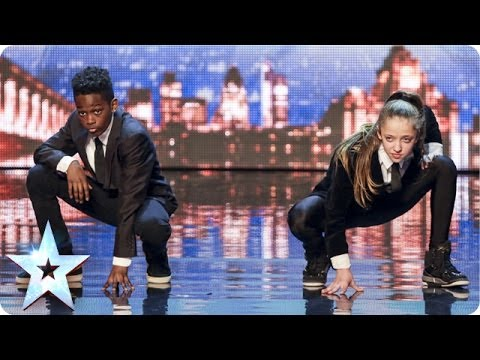 Sensational Streetdance Lauren & Terrell  Britain's Got