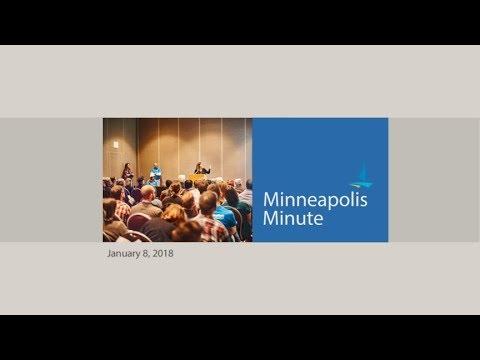 January 8, 2018 Minneapolis Minute